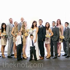 Mix and Match wedding party