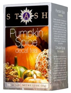 This sounds yummy: Stash Pumpkin Spice Decaf Black Tea $3.99 - from Well.ca