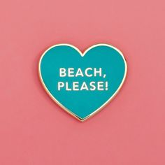 when someone asks you if you have weekend plans and you're just like...beach, please! we teamed up with valley cruise to co-design this limited edition pin for our trip to the cabana trade show during