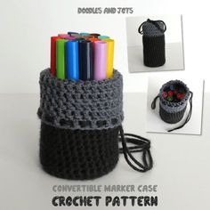 Crochet Phone Cases These Cute Crochet Projects Will Get You in the Mood for Back to School Season - Summer will be over before you know it! Help your favorite student head back to school in style with one of these crochet projects. Crochet Apple Your Crochet Pencil Case, Crochet Case, Crochet Phone Cases, Crochet Purses, Love Crochet, Easy Crochet, Crochet Hooks, Crochet Wallet, Crochet Phone Case Pattern Free