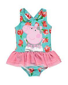 Super Cute Peppa Pig tutu swimsuit - George at Asda
