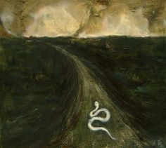 Thunderstruck (Chen Wei (Chinese, b. The Dusty Road,. Reptiles, How Beautiful, High Quality Images, New Art, Painting & Drawing, Oil On Canvas, Paper Art, Chen, Drawings