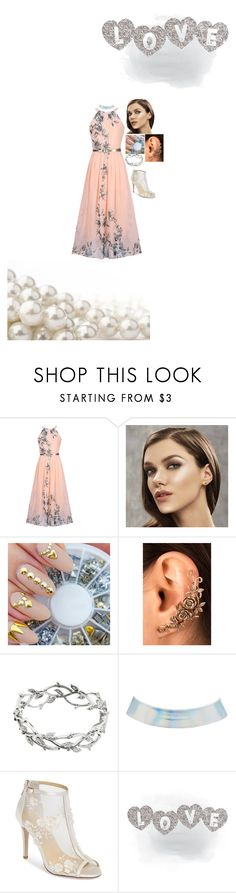 """""""simple yet effective"""" by bishpleaseimaprincess on Polyvore featuring WithChic, Tiffany & Co., Charlotte Russe and Bella Belle"""
