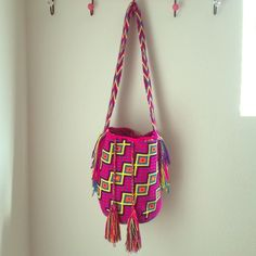 Limited edition Wayuu bag Wayuu tribe using techniques passed down for centuries from generation to generation . Enviromentally friendly product  Wayuu tribe  Other
