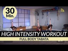 30 Min. HIIT High Intensity Full Body Tabata Interval Workout for Weight Loss and Strength Training - YouTube
