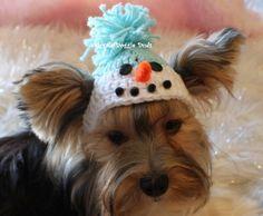 snowman hat, crochet pattern example. so cute!
