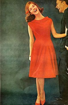 Red dress