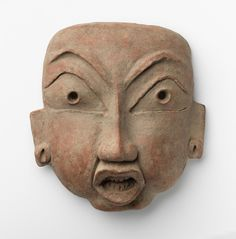 Mask Middle Formative 800 BC-300 BC Tlatilco, Central Mexico