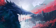 ArtStation - DUELYST - CELANDINE, AARYLIN FOREST, Counterplay Games