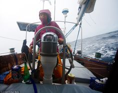 Liz Clark spends 10 YEARS sailing the world after generous benefactor gave her a yacht Sailing Basics, Selfie Show, Travel Around The World, Around The Worlds, Sail World, Small Shark, Sleeping Under The Stars, Galapagos Islands, Travel News