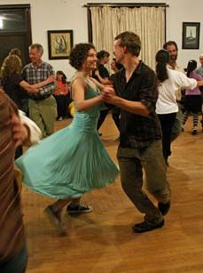 Bennington Contradance – Do I dare try this with Dale?!