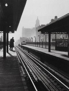 Rebecca Lepkoff, Third Avenue El, 1946′s