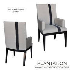 Anderson Arm Chair from Plantation Design in LA