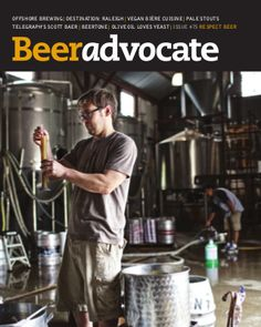 Welcome to BeerAdvocate (BA). Respect Beer.