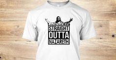 Discover Straight Outta Nazareth T-Shirt from The-T-Shirt-Doc, a custom product made just for you by Teespring. With world-class production and customer support, your satisfaction is guaranteed. - The straight outta design, except this time...