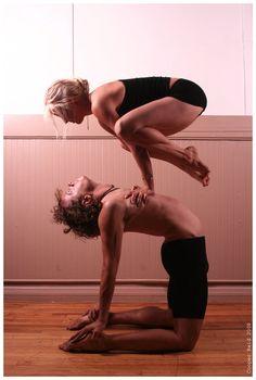#yoga #couple #partner