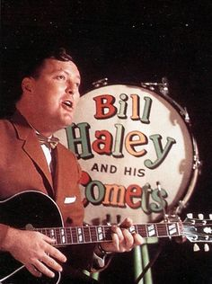 Bill Haley  He was in Las Vegas in the early 50's and the solders at camp Desert Rock really loved his music.
