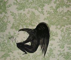 Bill Hammond Nz Art, Art For Art Sake, Counting Crows, Maori Art, Bird Art, Printmaking, New Zealand, Contemporary Art, Ravens