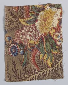 Textile from the Cooper Hewitt/Smithsonian
