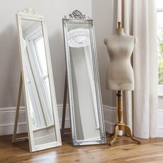 The Lambeth full length Cheval mirror is a stunning self standing mirror that will add glamour and elegance to your room. Shabby Chic Apartment, Shabby Chic Living Room, Shabby Chic Kitchen, Shabby Chic Homes, Shabby Chic Furniture, Mirror Furniture, Furniture Sale, Furniture Buyers, Cheap Furniture