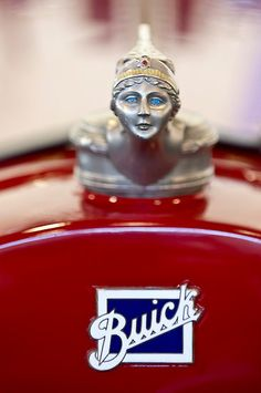 Vintage Hood Ornaments Photos - 1928 Buick Custom Speedster Hood Ornament 4 by Jill Reger Retro Cars, Vintage Cars, Antique Cars, Car Badges, Car Logos, Logo Autos, Car Hood Ornaments, Bike Logo, Buick Cars