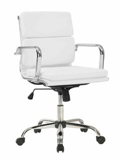 white office chair amy modern office chair