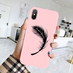 iPhone - Pink Random Desing 14.98 CAD Pink Iphone, Phone Cases, Random, Coral, Casual, Phone Case