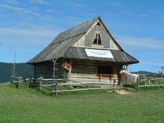 Shepherd's hut near Jaworki, Poland