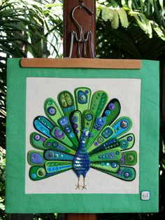"""'The Peacock' by Kerrin Quall at """"a little bit of just because"""""""