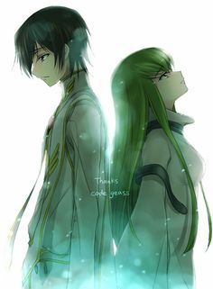 Lelouch and C.C. - Code Geass