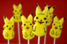 Pikachu Peeps..they are so cute!! :]