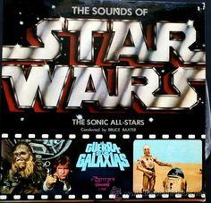 The Sounds of STAR WARS - BSO La Guerra de las Galaxias -LP Olympo 1978-Bruce Baxter - John Williams / Star Wars en todocoleccion