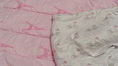 Nicole Miller Paris Eiffel Tower Bicycle Pink White Polka... http://amzn.to/2sQvZtD