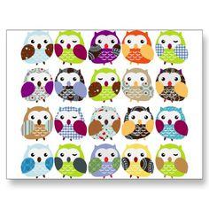 bunch of owls!