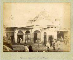 ND. Phot. Tunisie, Tunis, Mosquée de Sidi M'harez     #Afrique_Africa #Tunisie