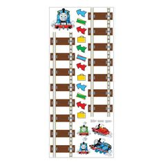 Thomas and Friends Peel and Stick Growth Chart - RMK1126GC