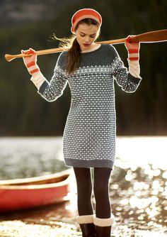 FAIR ISLE DRESS | TOAST