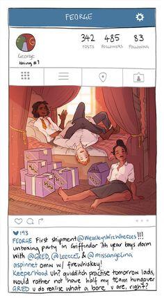 SparkLife » Gryffindor's Social Media Game Is ON POINT