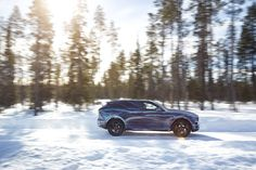2017 Jaguar F-Pace Undergoes Weather Testing Before Frankfurt Debut Jaguar Fpace, Frankfurt, Jaguar Land Rover, Cold Weather, Conditioner, Car, Pictures, Outdoor, Motors