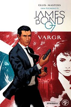 James Bond cover artwork for the Dynamite Entertainment comic book, illustrated by Timothy Lim Jack Christian - freetime. Comic Book Pages, Comic Book Covers, Comic Books Art, Book Art, James Bond Movie Posters, James Bond Movies, James Bond Style, Bond Series, Daniel Craig James Bond