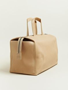 Issac Reina Women's Twenty Four Hour Bag From AW 12 Collection In Brown.