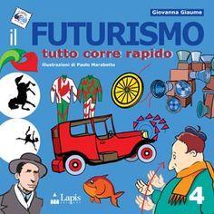 """Dopo il grande successo della prima edizione torna """"il Futurismo"""": un viaggio nell'epoca della macchina, dell'esaltazione della vita moderna, della velocità e dell'energia. Un libro colorato e divertente che introduce il bambino nel mondo dell'arte attraverso il gioco e la fantasia."""