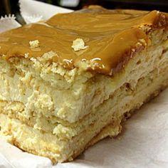 Receita de Pavê de Doce de Leite - Pavê de Doce de Leite - Receita de Família - 200 g de manteiga em temperatura ambiente - 1 xícara (chá) de açúcar - 3 o...