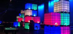Alquiler cubos luminosos IBC