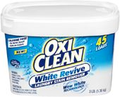 OxiClean White Revive smells great and can be used with your colors, too.