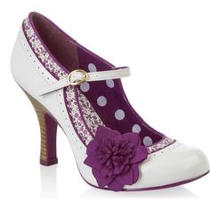 Ivory ☆ Just Love Ruby Shoo