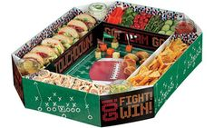 Football Snack Stadium 15in x 25in - Party City