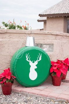 How to Turn Old Tires into Christmas ornaments
