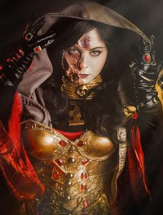 http://alberti.deviantart.com/art/Warhammer-40-000-Cosplay-Inquisitor-Ordo-Malleus-443122229