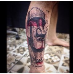 Moai google interesting things pinterest for Body art tattoos lincoln